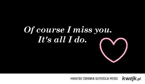 i miss U.