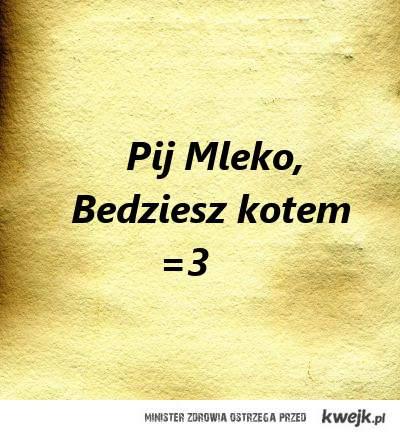 Pij mleko :D