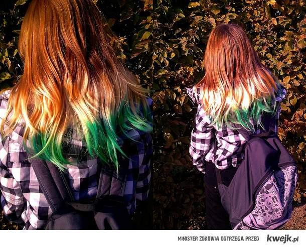 Zielone końcówki . x3
