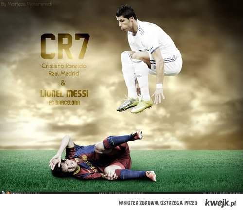 CR7  HALA MADRID !