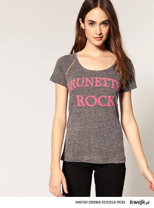 brunettes rock
