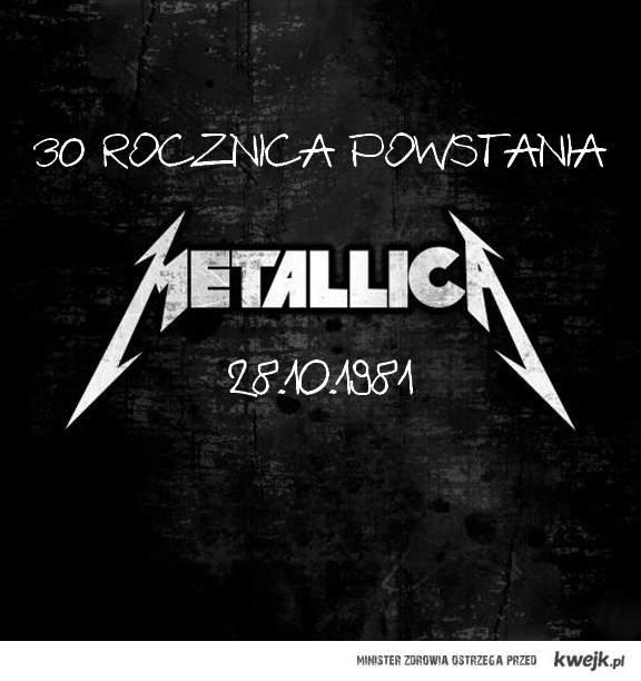 Metallica gra 30 lat!