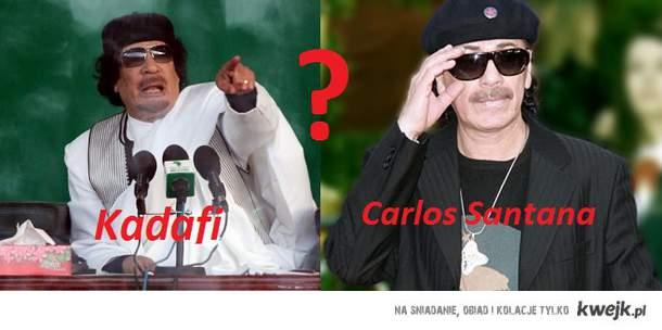 TO SPISEK!!!!!         Kadafi nadal żyje a do tego zaje*iście gra na gitarze!!!!