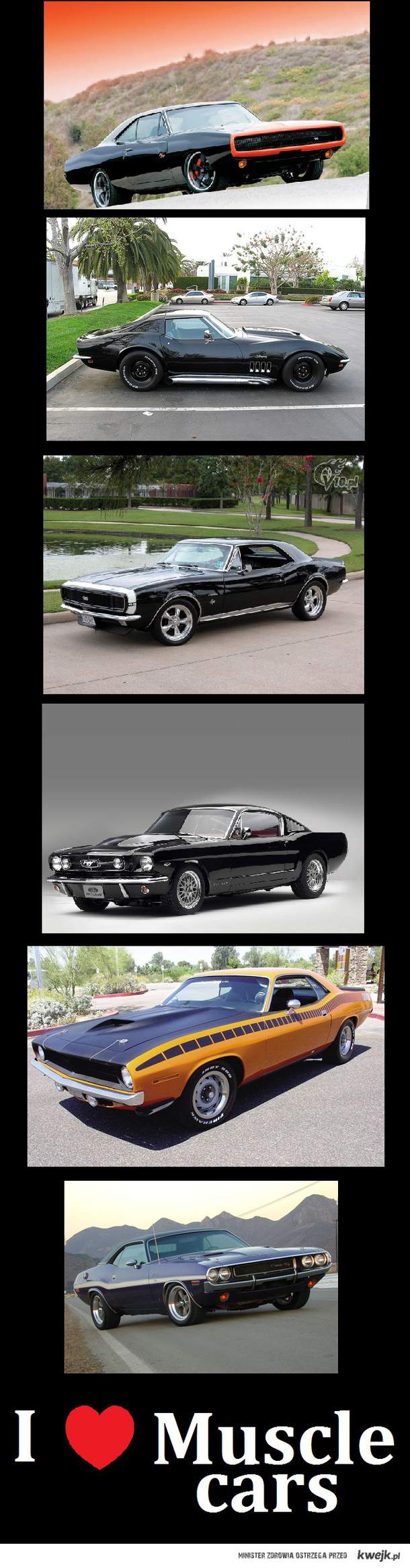 Amercan Muscle Cars