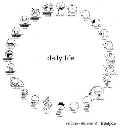 my day, my life