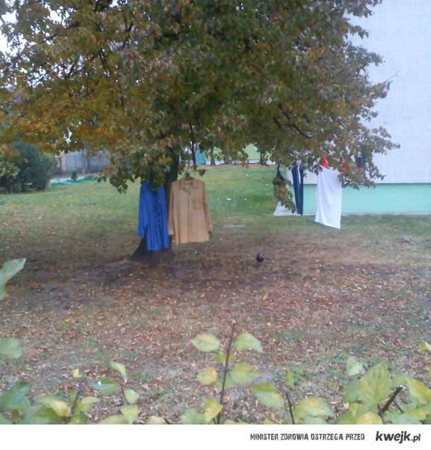 bo ubrania się nie zmieściły