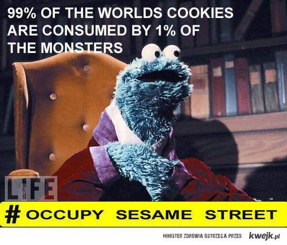 Occupy Sezame Street