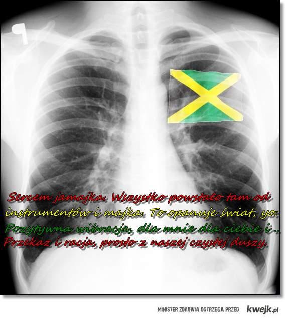 Sercem Jamajka. ♥