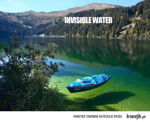 niewidzialna woda