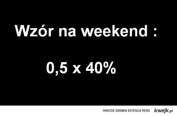 Wzór na weekend