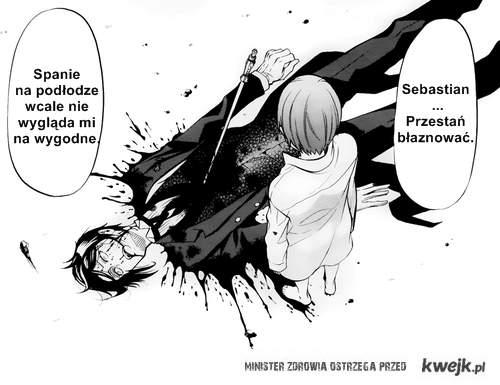 Sebastian - Ciel - Kuroshitsuji