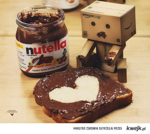 danbo & nutella . ♥