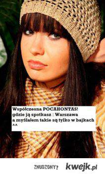 Współczesna Pocahontas