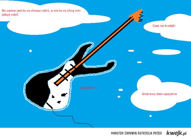 Gitara paintowana