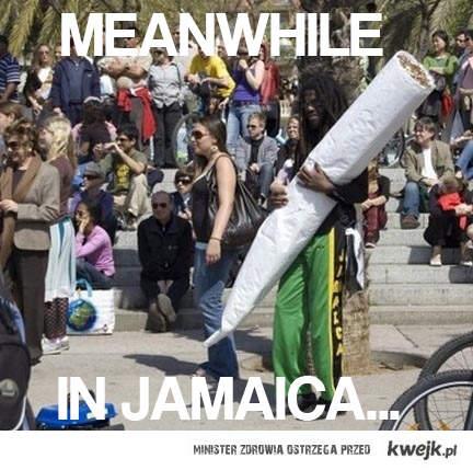 A na Jamajce ...