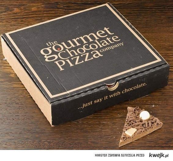 Czekoladowa pizza?
