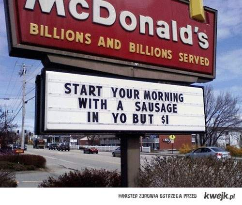 dobry poranek to podstawa