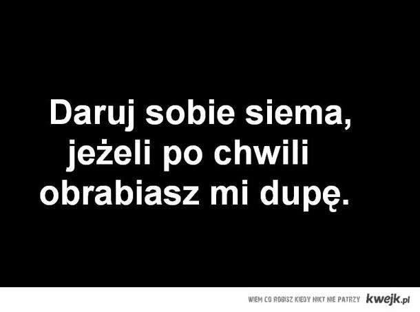 Daruj sobie ;)