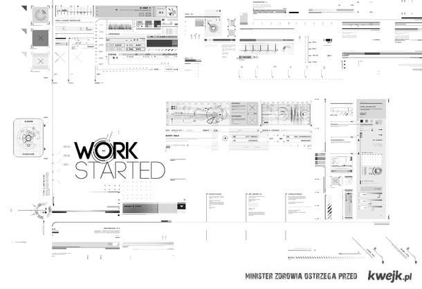 Work started.