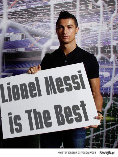 Messi is the best