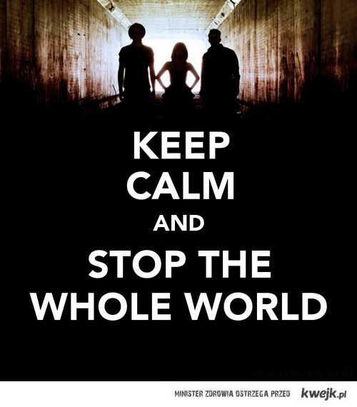 stop the whole world with paramore :D