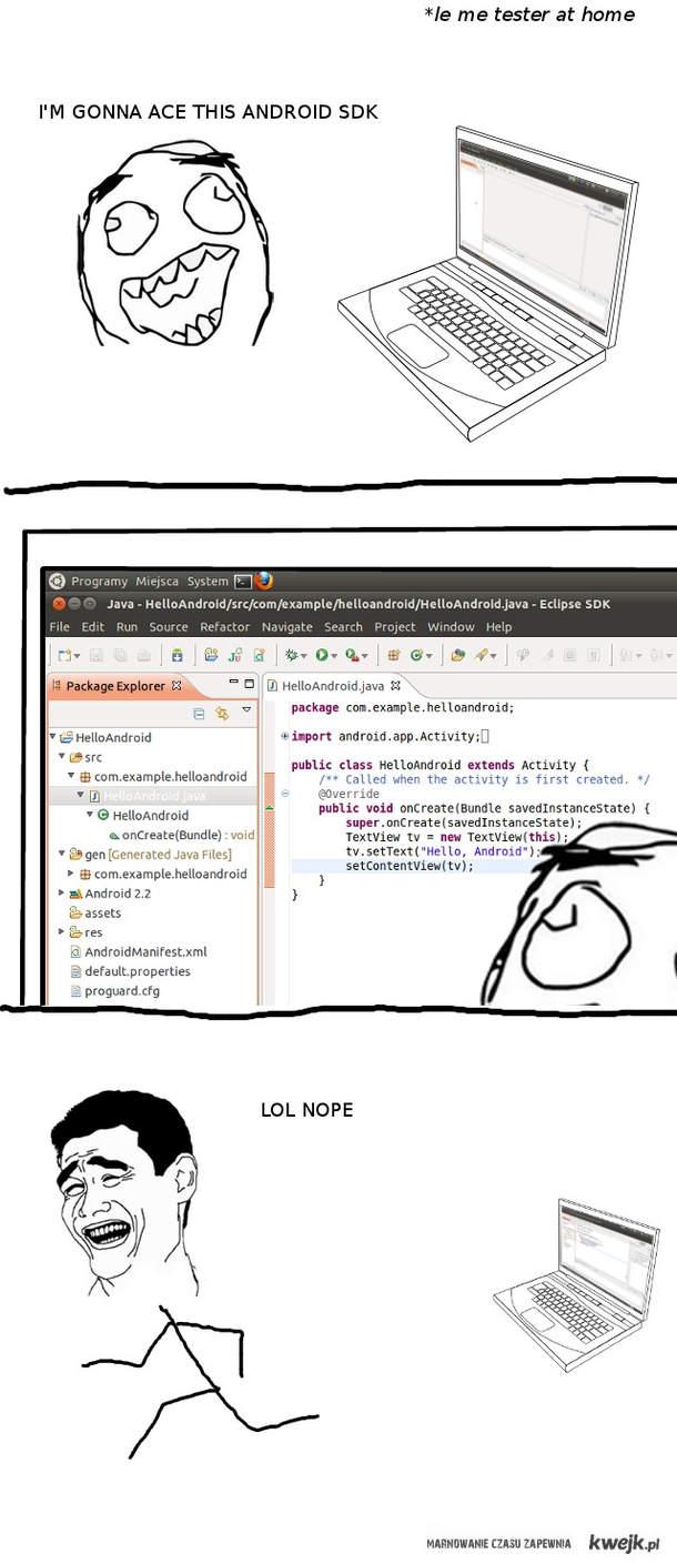 Życie testera oprogramowania