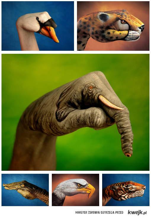 Malowane dłonie