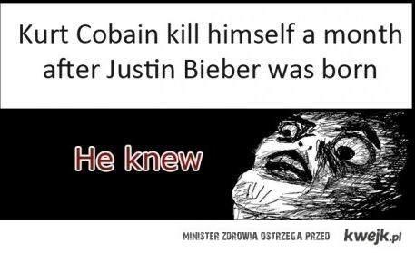 Cobain wiedział