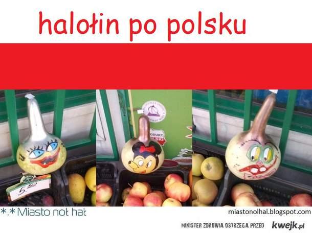 halołin po polsku