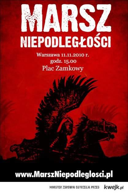 Wyszscy na Marsz - 11.11.11, godzina: 15.00 - Plac Konstytucji w Warszawie
