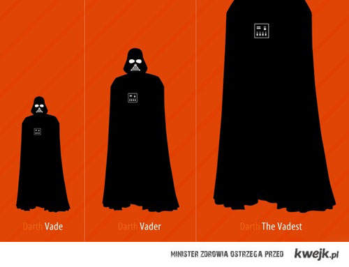 stopniowanie Vadera