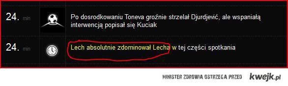 możliwe tylko w polskiej lidze