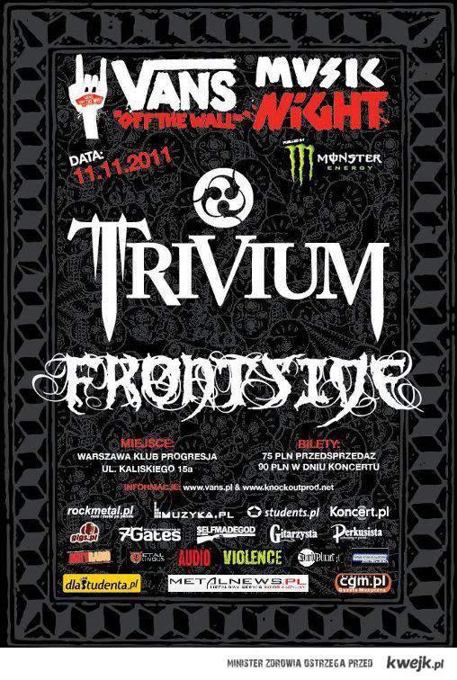 Trivium w Polsce !!!!