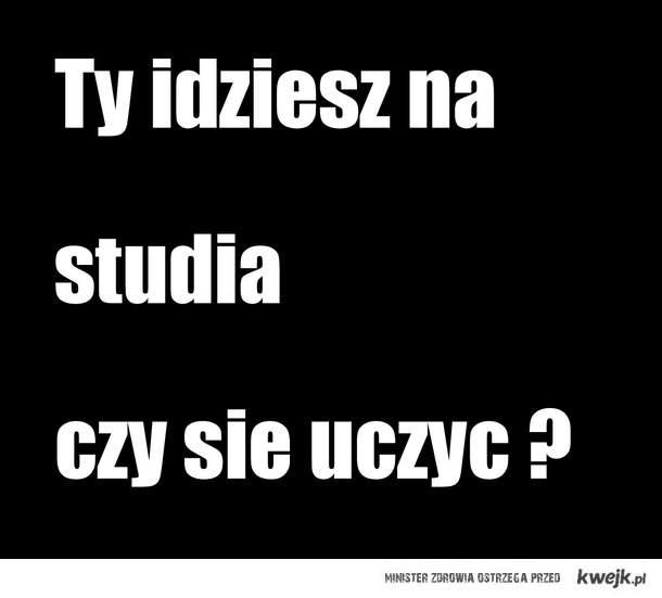 studenci : >