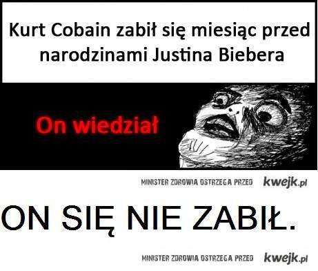 Kurt Cobian się nie zabił!
