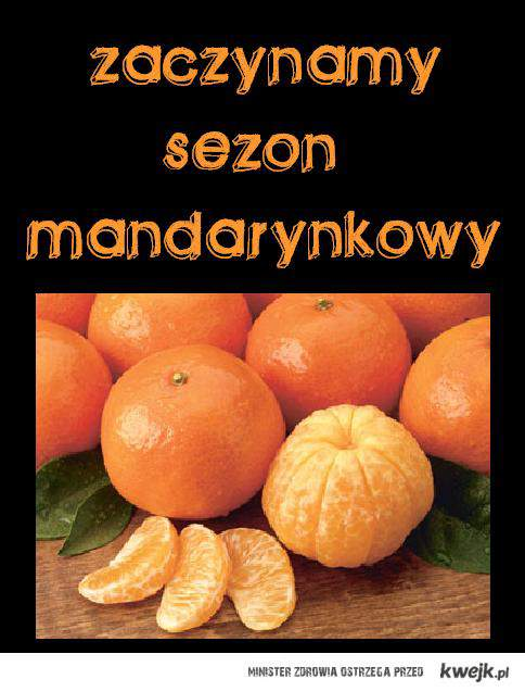 sezon mandarynkowy