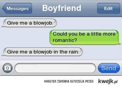romantyczna propozycja