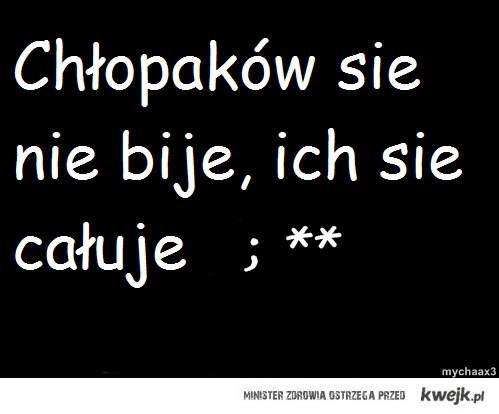 chlopcy : *