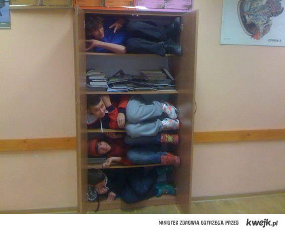 w szkole :)
