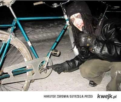 rower szatana