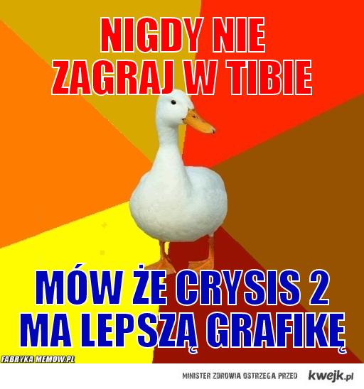 Crysis2 vs Tibia