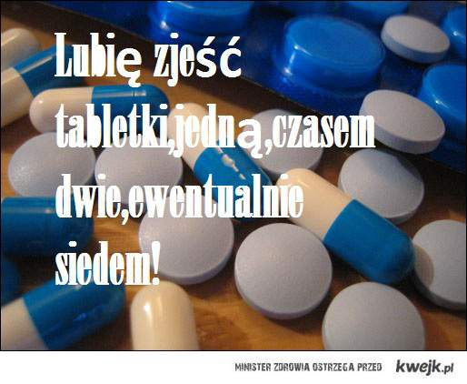 lubię tabletki