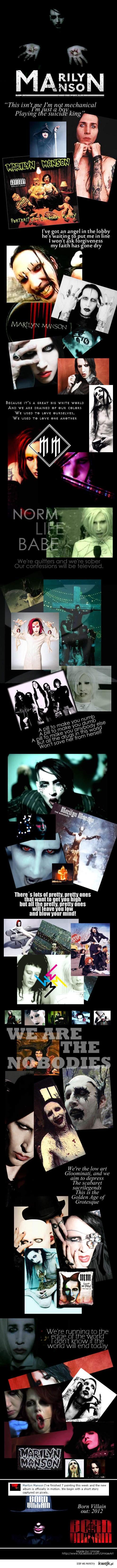 Marilyn Manson!