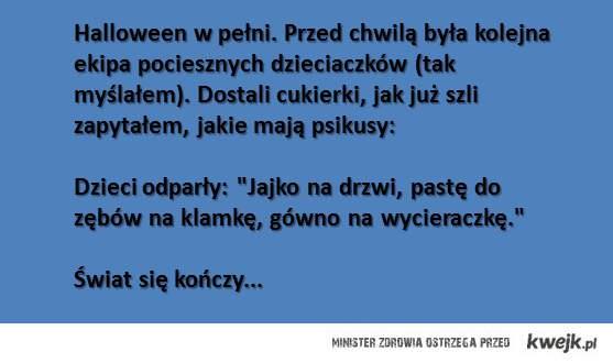 Halloween po polsku