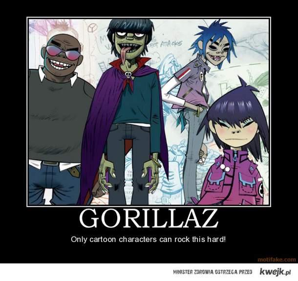 Gorillaz <3