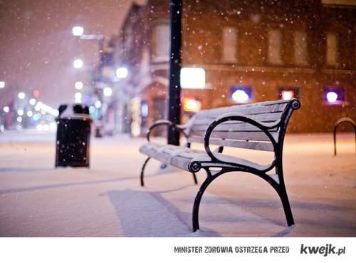 Śnieg! <3
