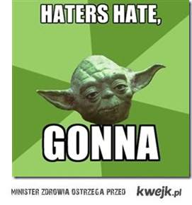 Yoda for haters