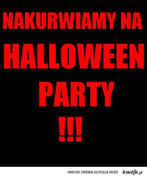 HALLOWEEN PARTY! <3