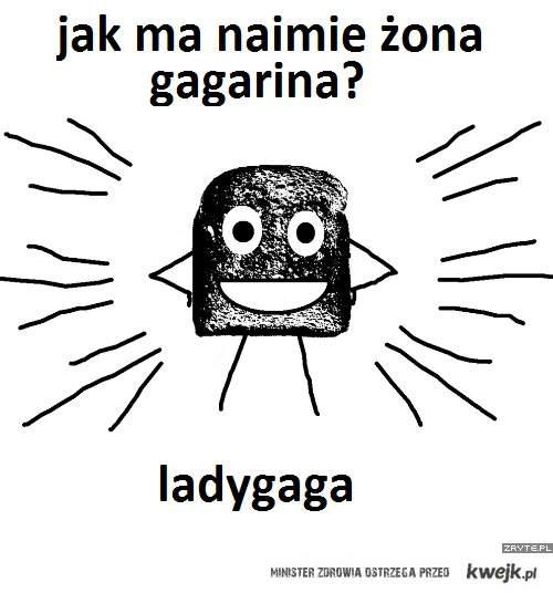 żona gagarina
