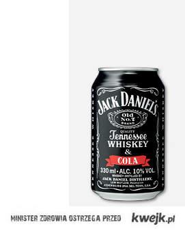 Jack Daniel's z colą <3 nie ma nic lepszego na świecie ;>